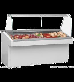 KBS Mehrzweck-Kühlvitrine Basic 130 Plus