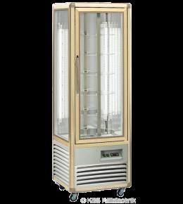 KBS Kuchenvitrine Snelle 350 R LED (bronze)