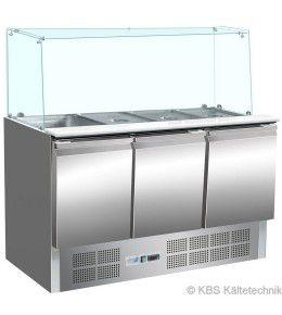 KBS Saladette 904 mit geradem Glasaufbau