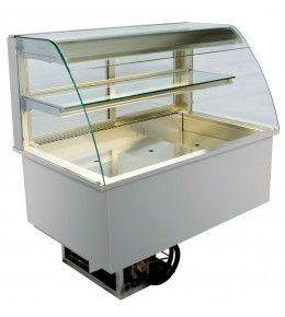 NordCap Einbaukühlvitrine OPV 80-5-H1 Front offen