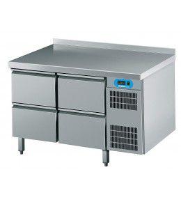 Chromonorm Kühltisch CNS, 4 Schubladen