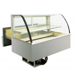 NordCap Einbaukühlvitrine CAKE 112-52 mit Isolierglas