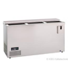 KBS Edelstahl Flaschenkühltruhe AL 150 CNS