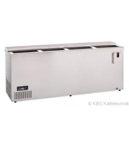 KBS Edelstahl Flaschenkühltruhe AL 200 CNS