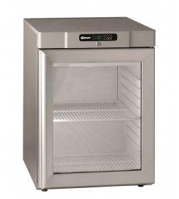 Gram Glastür-Tiefkühlschrank COMPACT FG 220 RG 2W