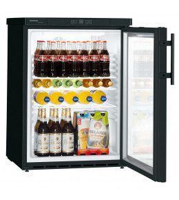 Liebherr Glastürkühlschrank FKUv 1613 Premium - schwarz