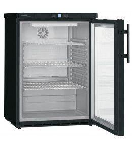 Liebherr Glastürkühlschrank FKUv 1613 Premium BlackLine - schwarz
