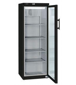 Liebherr Glastuerkühlschrank FKv 3643 BlackLine - schwarz