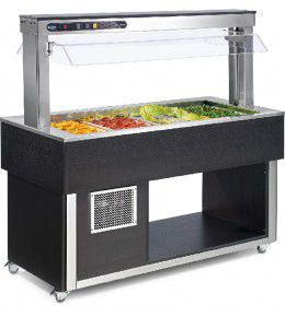 NordCap Salatbar TR-GREEN 4/1