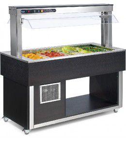 NordCap Salatbar TR-GREEN 3/1