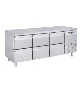 COOL-LINE-Kühltisch KT 1755 6Z