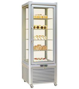KBS Tiefkühlvitrine Prisma 400 TBV/PF (silber)