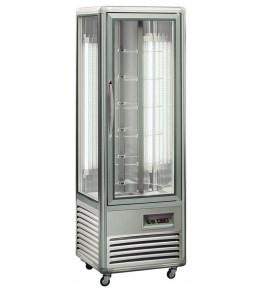 KBS Kuchenvitrine Snelle 350 R LED (silber)