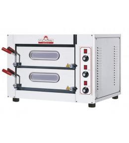 Italforni Pizzaofen elektro für 4+4 Pizzen bis ø 25 cm