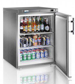 COOL-LINE Umluft-Gewerbekühlschrank RCX 200 INOX