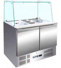 KBS Saladette 908 mit geradem Glasaufbau