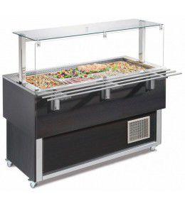 NordCap Salatbar TR-BLUE 4/1-UMLUFT SERVICE