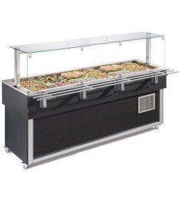 NordCap Salatbar TR-GREEN 6/1 SERVICE