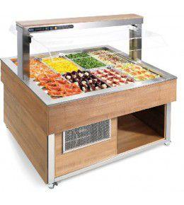 NordCap Salatbar TR-GREEN SQUARE 4/1